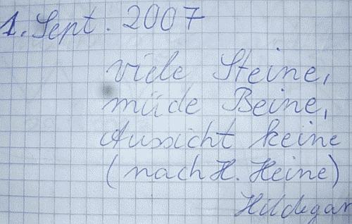 Stückberg-Gipfelbuch