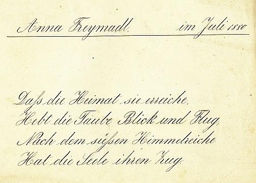 Schriftpflege 1880