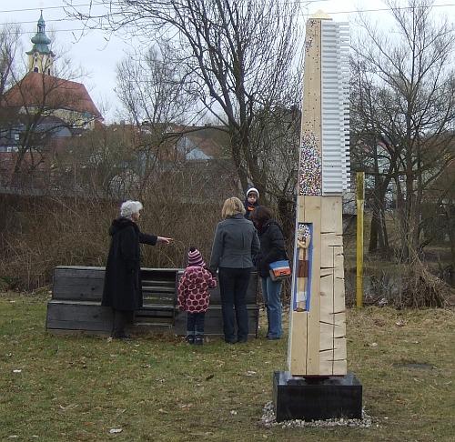 Obelisk beim Schießhaus, Neustadt an der Waldnaab