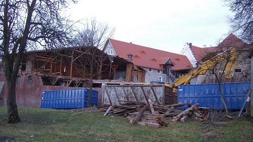 Abbruch eines Baudenkmals - keinerlei Bedenken