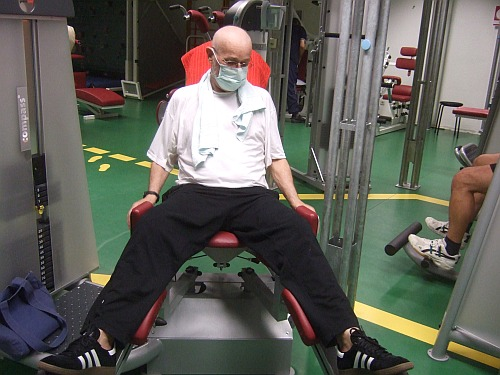 Fitness in der Bavaria-Klinik Freyung, Bayerischer Wald