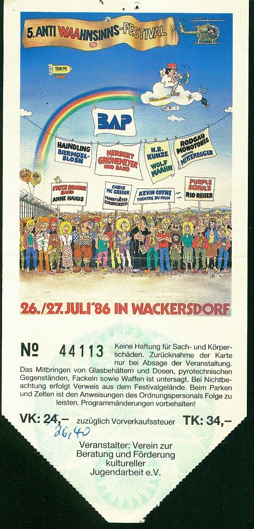 Anti-WAA-Festval bei   Burglengenfeld