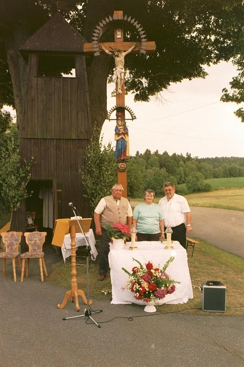 Glockenturm von Obernankau, 14. Juli 2003, Foto: Hannes Sennert
