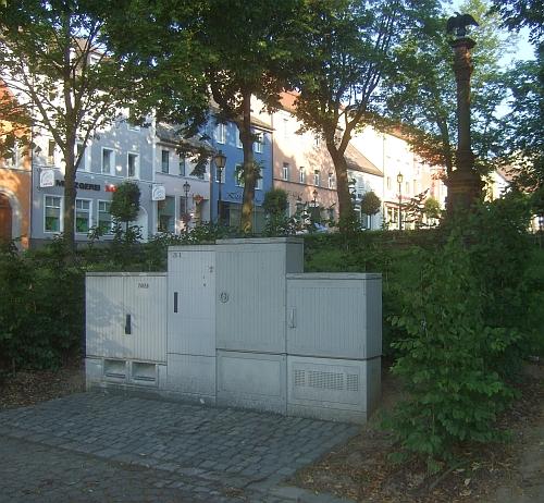 """Schaltkästen """"verschönern"""" Altstadt und Denkmal-Park"""