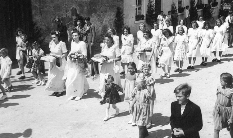 Heimatfest Eslarn 1950 (?)