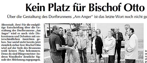 Kein Platz für Bischof Otto Der neue Tag 26. Aug. 2010