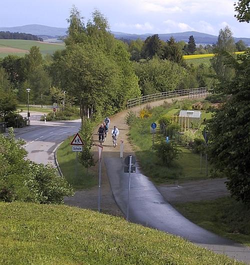 Bocklradweg bei Pleystein