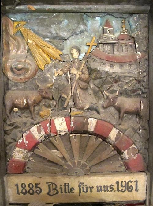 St. Wendelin, Votivbild aus Leuchtenberg