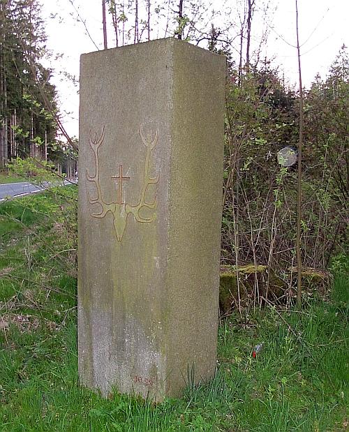 Hubertus-Säule beim Penzach (Stadt Vohenstrauß)