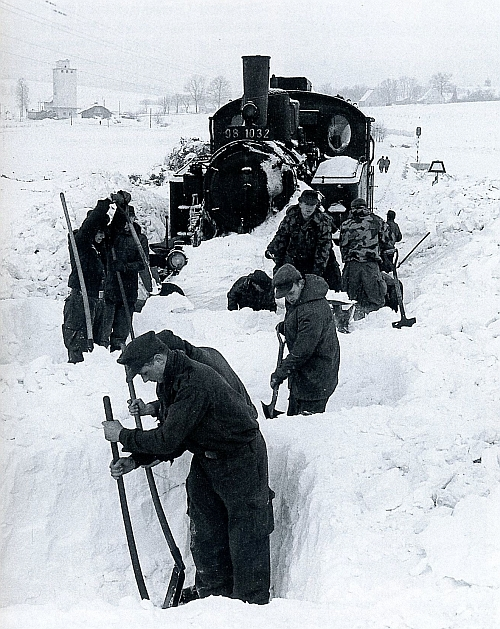 Bockl im Schnee